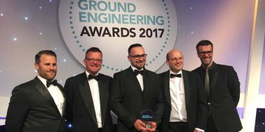 Double win at Ground Engineering Awards for Structural Soils
